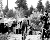 Zach McDonald with a big lead. U23 Race, 2010 Cyclocross National Championships © Joe Sales