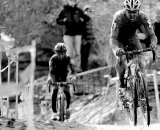 Summerhill starts to open the final gap. U23 Race, 2010 Cyclocross National Championships © Joe Sales