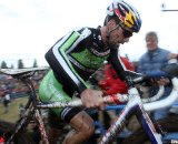 Tim Johnson, from Beverly, Mass was defending champion but finished 5th. 2010 USA Cycling Cyclocross National Championships. © Cyclocross Magazine