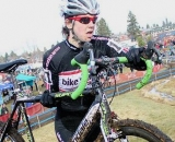 Devon Haskell raced her second race of the weekend and finished 29th. 2010 Cyclocross National Championships, Women's Race. © Cyclocross Magazine