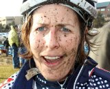 Kathy Sherwin made up for her missed Masters race with a big fourth place. 2010 Cyclocross National Championships, Women's Race. © Cyclocross Magazine