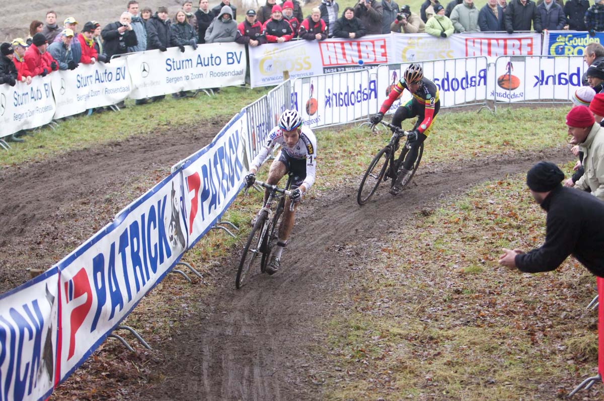 Niels Albert and Sven Nys, Hoogerheide Cyclocross World Cup
