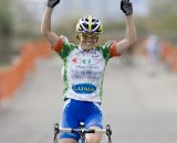 Georgia Gould, Luna Pro Team, wins Sunday's Women's Elite Race © Greg Sailor – VeloArts