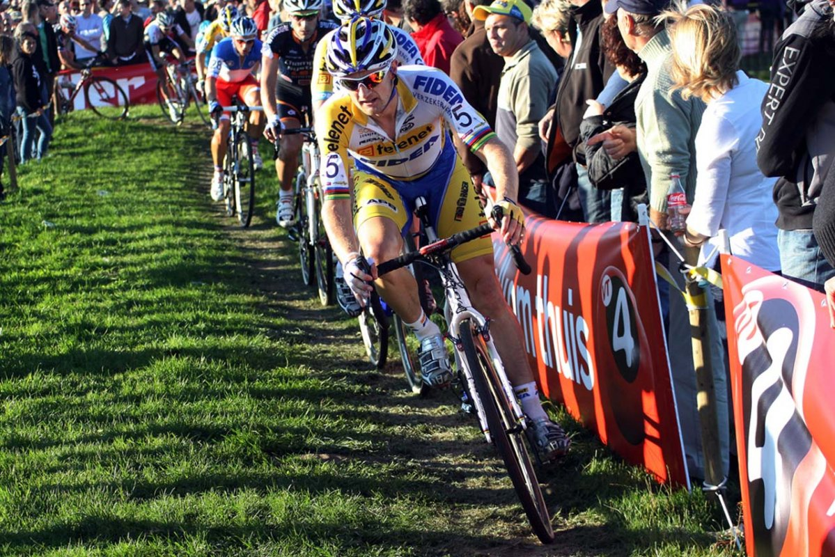 Bart Wellens fought his way to fifth © Bart Hazen