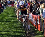 Sven Nys would eventually come back to a podium finish © Bart Hazen