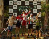 The Kross-toberfest Elite Men's podium. © Kenneth Kill, Light & Shadows