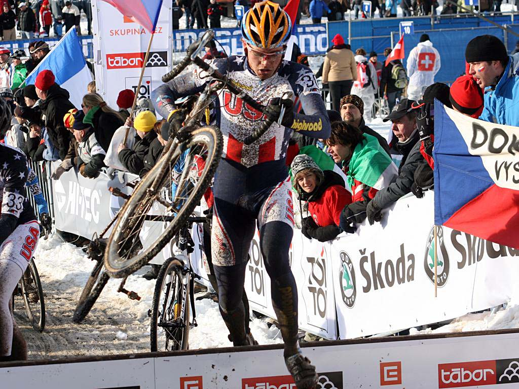 Danny Summerhill had a decent race to finish 29th. 2010 U23 Cyclocross World Championships. ? Bart Hazen