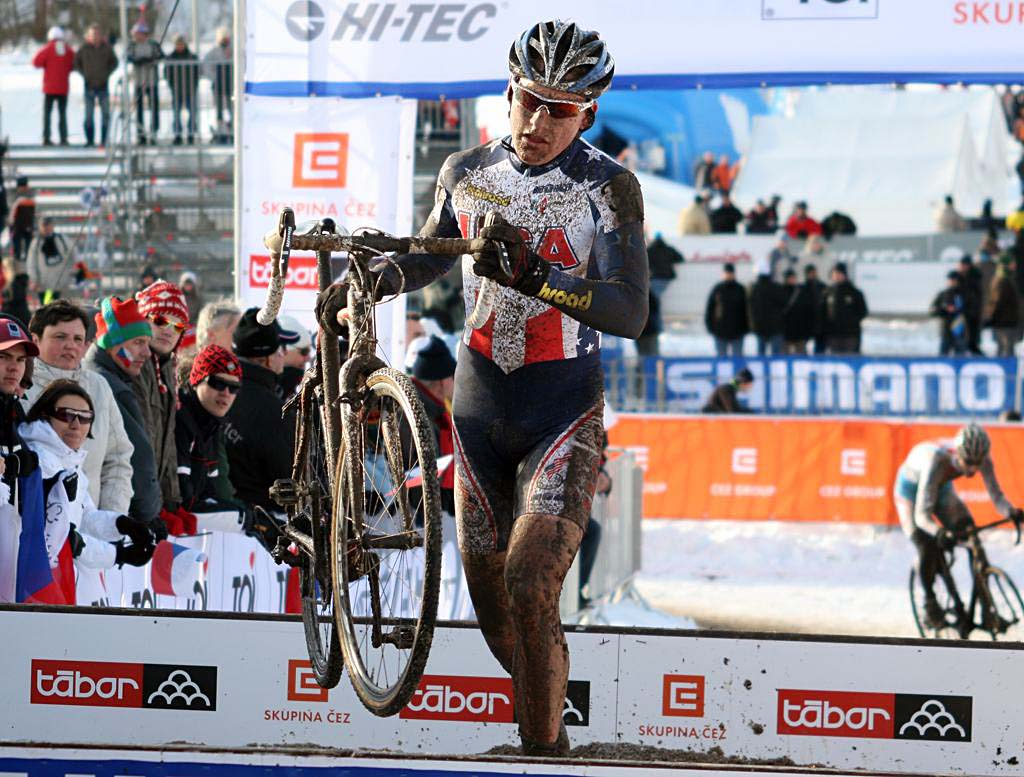 Dave Hackworthy - 2010 U23 Cyclocross World Championships. ? Bart Hazen