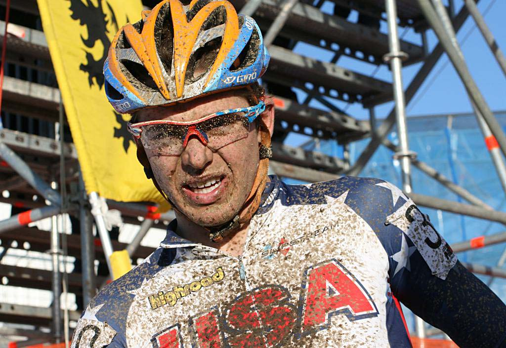 Summerhill was content with 29th, and looks towards the road now.  2010 U23 Cyclocross World Championships. ? Bart Hazen