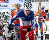 Former junior World Champ Arnaud Jouffroy had a strong race to finish third in his second year as a U23. 2010 U23 Cyclocross World Championships. ? Bart Hazen