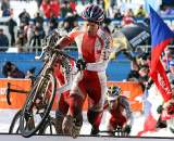 The entire Polish team controlled the race early. 2010 U23 Cyclocross World Championships. ? Bart Hazen