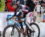 Jerome Townsend finished 38th, without gloves. 2010 U23 Cyclocross World Championships. ? Bart Hazen