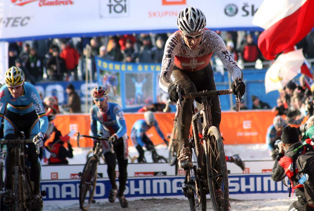 Christian Heule had a strong start and held on for seventh. ? Bart Hazen