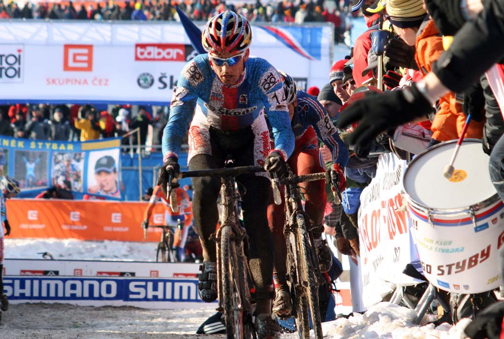 Stybar must have been encouraged seeing his name everywhere. ? Bart Hazen