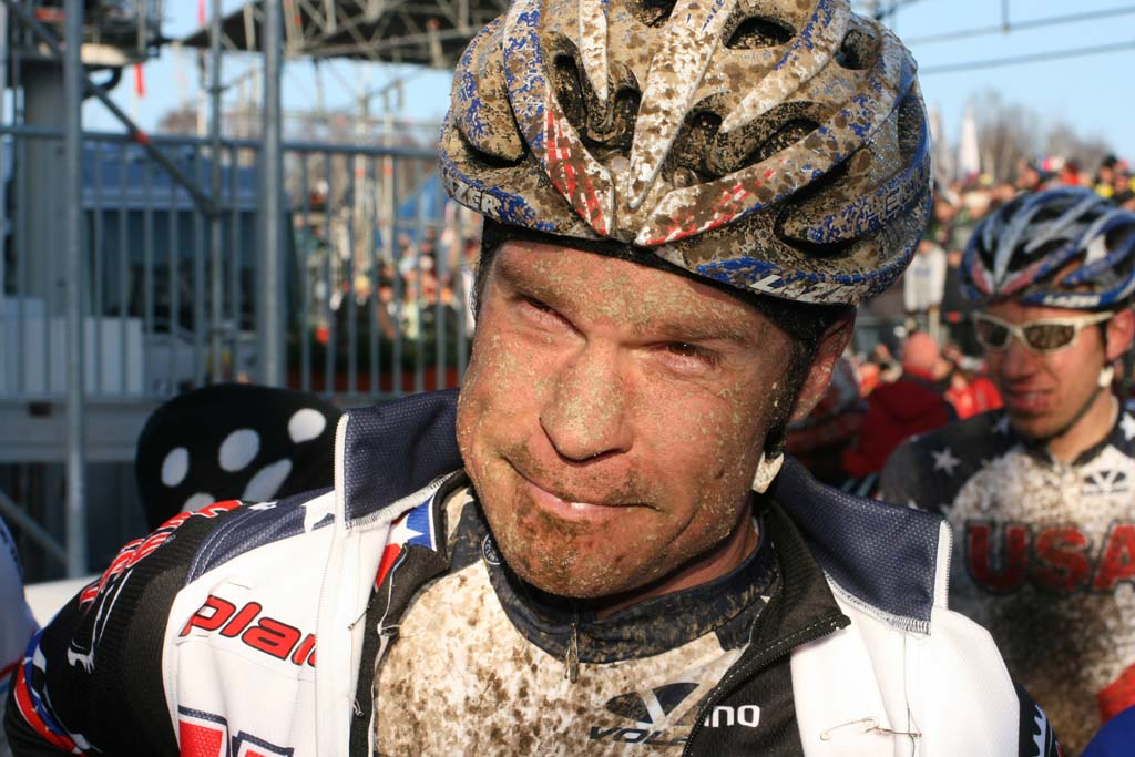 American Jonathan Page rode well, but a mechanical knocked him out of contention ? Bart Hazen