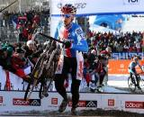 Once he had a gap, Stybar never looked back. ? Bart Hazen