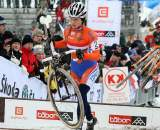 Daphny van den Brand had hoped for a better result than third. ? Bart Hazen