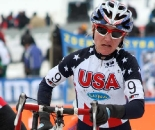 Dombroski represented the US well in her first World Championships. ? Bart Hazen