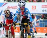 Katerina Nash used the energy of the crowd to get her to fourth place. ? Bart Hazen