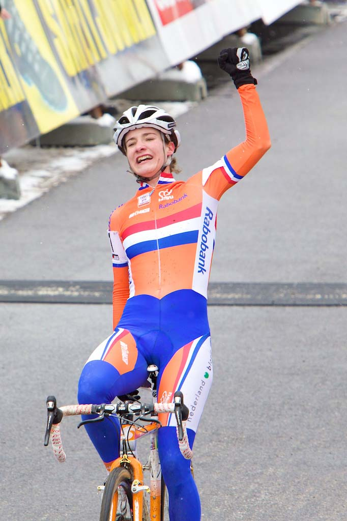 Marianne Vos repeats as Cyclocross World Champion in Tabor. ? Joe Sales