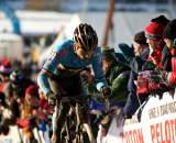 Sven Nys raced aggressively en route to Worlds podium ? Joe Sales
