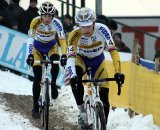 Bart Wellens leads Kevin Pauwels © Bart Hazen