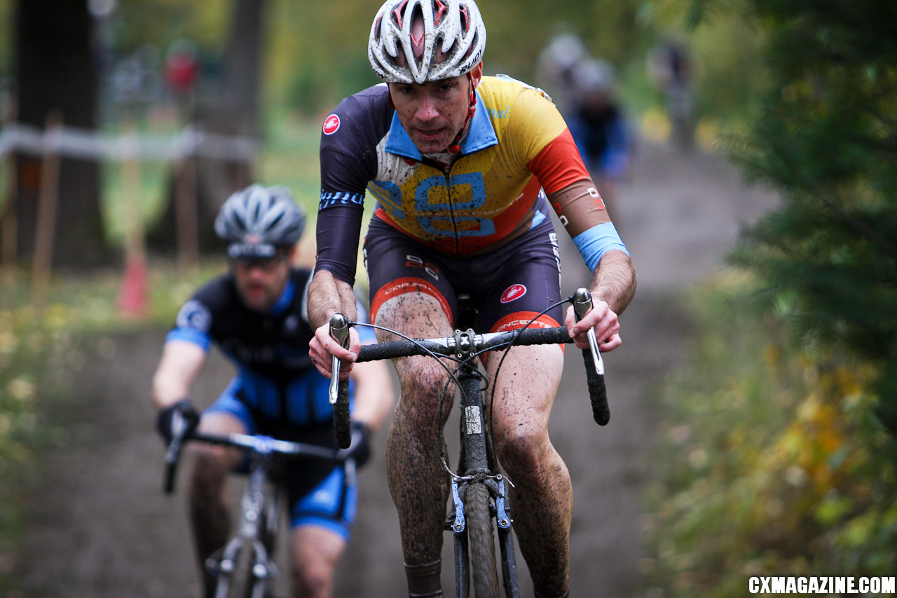 Skerritt rode his way back into contention. ©Pat Malach