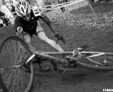 The mixture of mud and off-camber turns tripped up many riders. ©Pat Malach