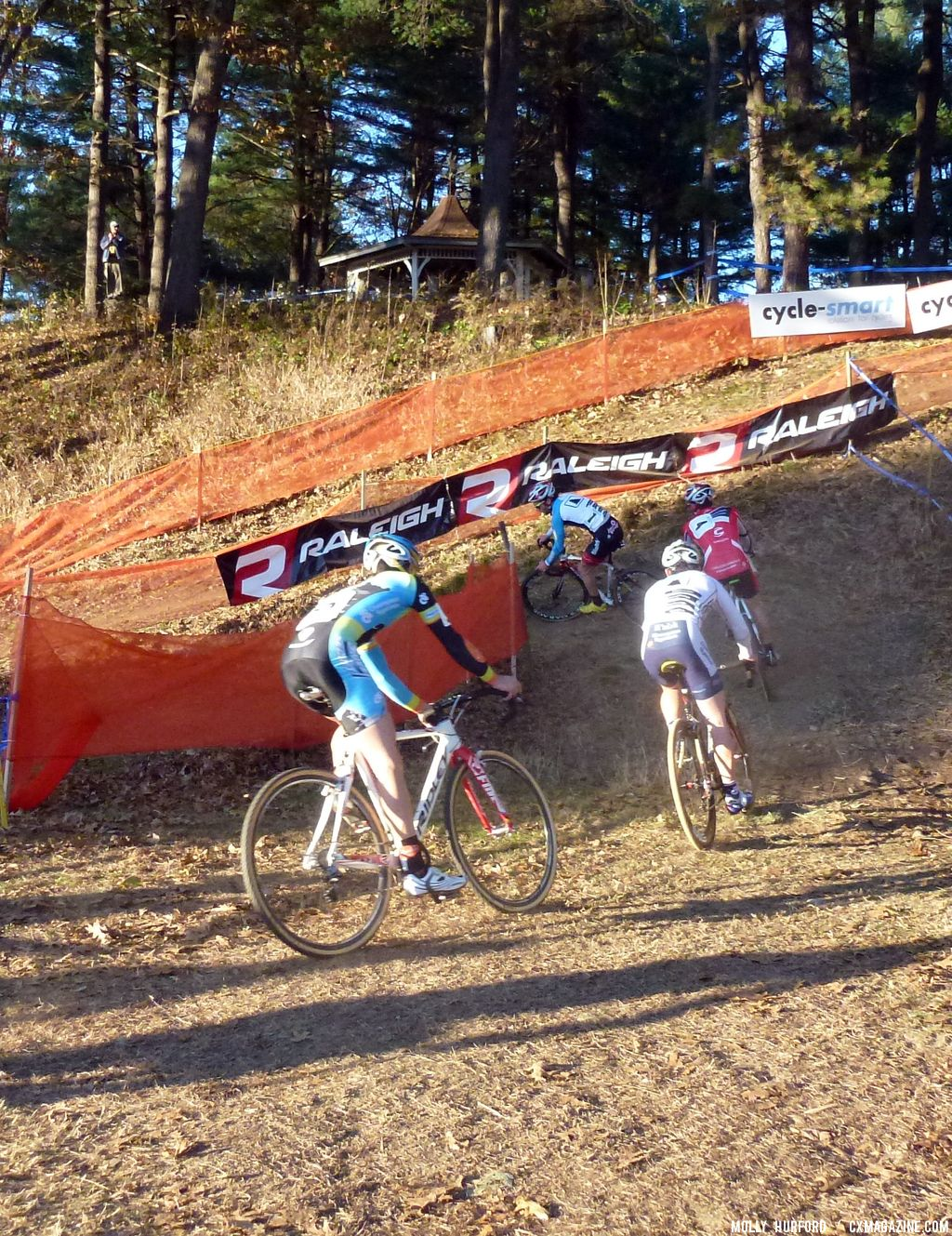 The off camber before the ride-up © Cyclocross Magazine