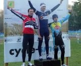 The Men's podium. © Cyclocross Magazine