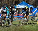 The chase of four were racing for the win © Natalia Boltukhova | Pedal Power Photography | 2011
