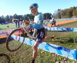 Myerson on the barriers. © Cyclocross Magazine