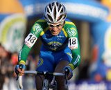 Eddy van IJzendoorn would finish on the podium. © Bart Hazen