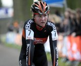 Evy Kuijpers the topfavorite for the women's youth races finishes in second