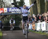 Danny van Poppel takes the national Junior title ©Bart Hazen