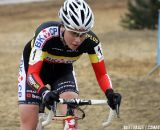 Belgian champion Sanne Cant on her way to the final victory in the GVA series