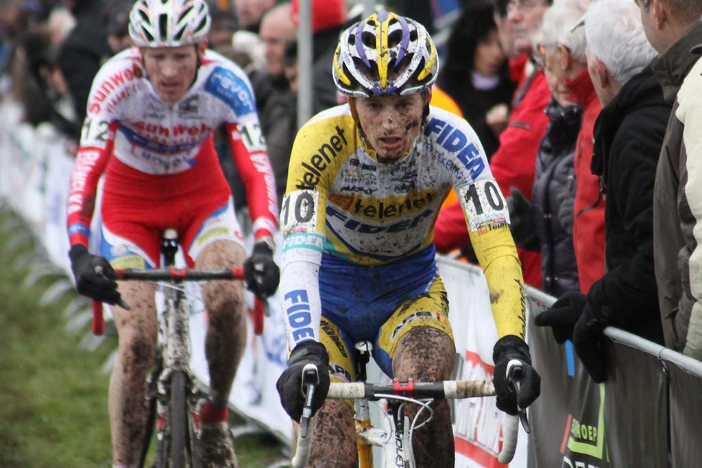Kevin Pauwels finished second in Hoogerheide. © Bart Hazen