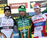 Podium Namur World Cup 2011 © Bart Hazen