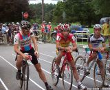 The top three finishers started together in the front row. © Cyclocross Magazine