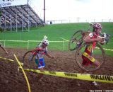 Field and Ursi in the mud. © Cyclocross Magazine