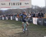 Takenouchi takes the win. 2011 Nobeyama, Japan UCI Cyclocross Race. © Cyclocross Magazine
