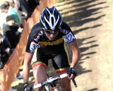 Sanne Cant on the hill © Renner Custom CX Team, Gregg Germer