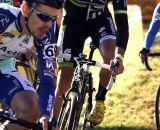Tim Johnson also was obstructed at the start and had to chase the first lap. © Renner Custom CX Team, Gregg Germer