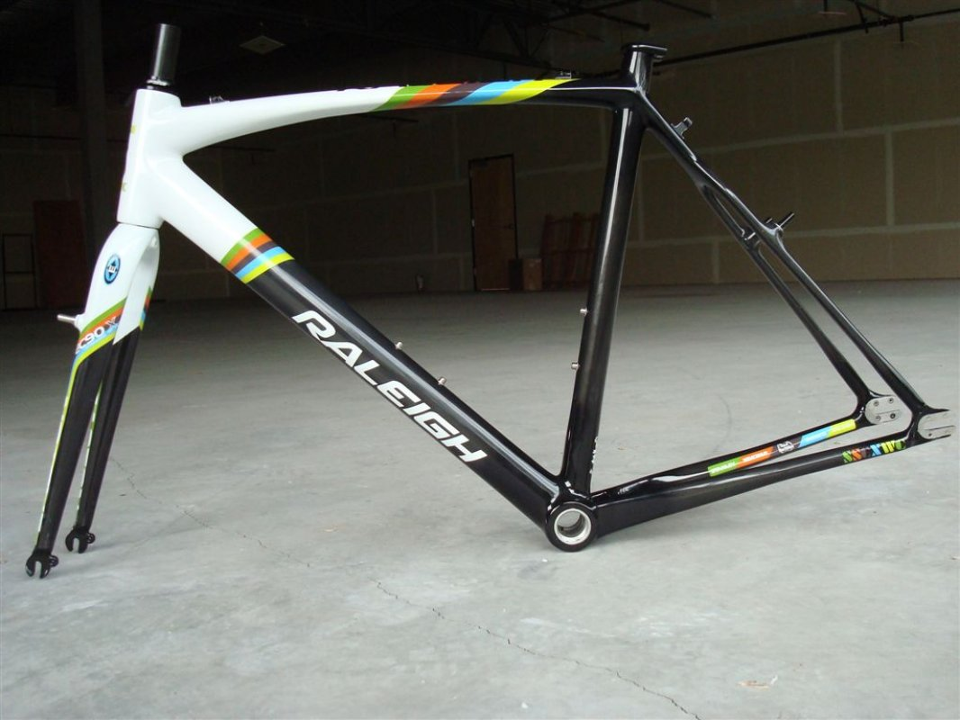 Raleigh will be making 40 of the frames. Photo Courtesy Raleigh