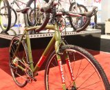 The paint scheme is retro, yet distinctive. © Cyclocross Magazine