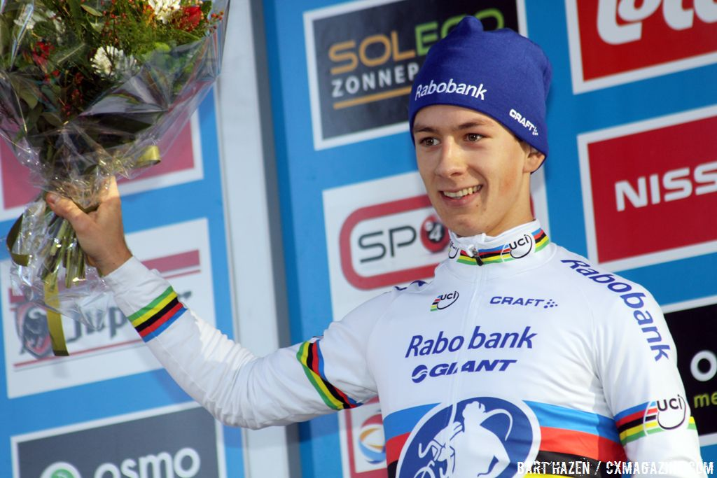Lars van der Haar is the new Superprestige leader © Bart Hazen