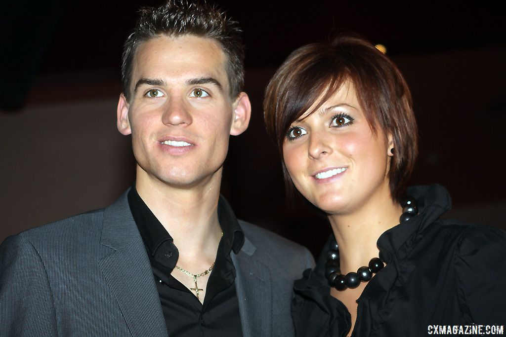 Zdenek Stybar and his girlfriend Ine Vanden Bergh