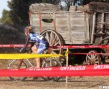 Remnants of Central Oregon's rustic past dotted the course Saturday. ©Pat Malach