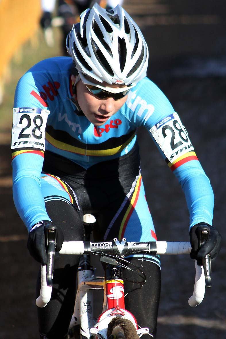 The young Sanne Cant highlighted a great season with a top 10 finish. © Bart Hazen