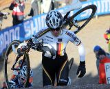 Hanka Kupfernagel would finish fourth, just missing the podium. © Bart Hazen